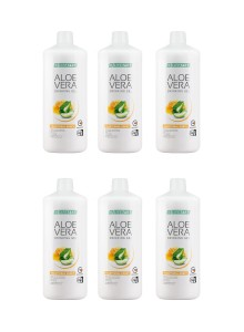Aloe Vera Aloe Vera Drinking Gel Miel set de 6 Promotion