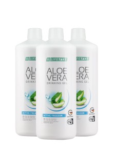 Aloe Vera Drinking Gel Active Freedom en set de 3 Promotion
